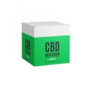 CBD Bath Bombs Boxes Manufacturer
