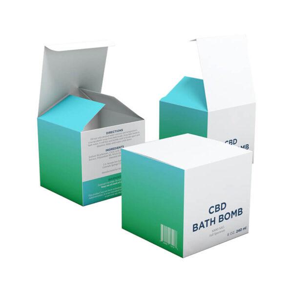CBD Bath Bombs Boxes Retail