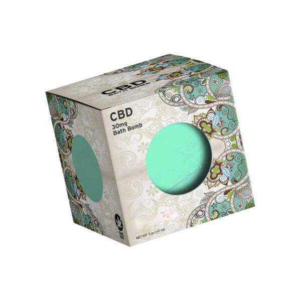 CBD Bath Bombs Boxes Customized