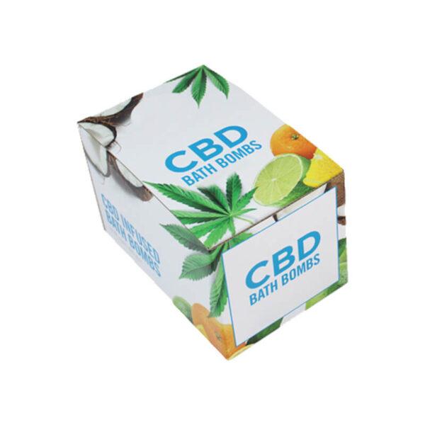 CBD Bath Bombs Boxes Custom
