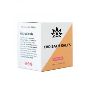 CBD Bath Salts Boxes Packaging