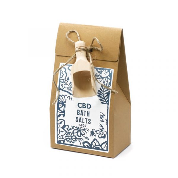 CBD Bath Salts Boxes Packaging