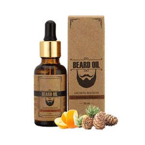 CBD Beard Oil Boxes With Brand Logo