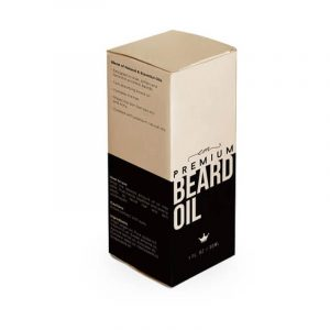 CBD Beard Oil Boxes With Free Shipping