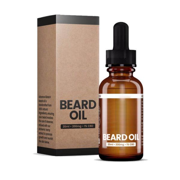 CBD Beard Oil Boxes Packaging