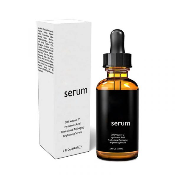 CBD Beauty Serum Boxes With Free Shipping