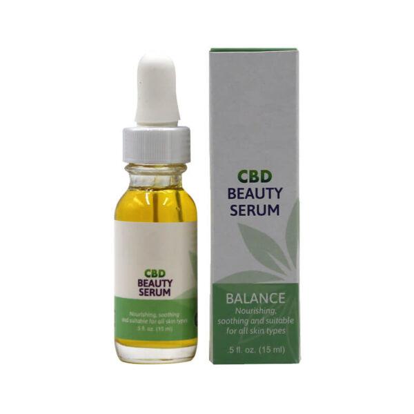 CBD Beauty Serum Boxes Retail