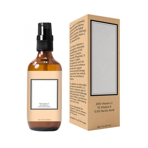 CBD Beauty Serum Boxes Wholesale
