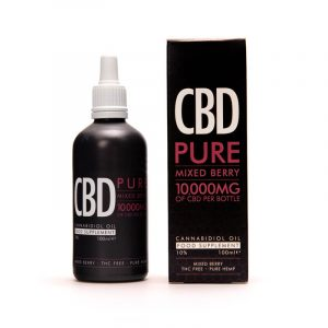 CBD Berry Oil Boxes With Free Shipping