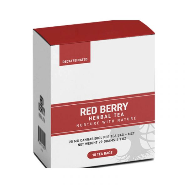 CBD Berry Oil Boxes Packaging