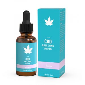 CBD Black Cumin Seed Oil Boxes Customized