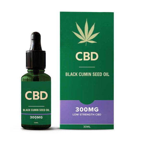 CBD Black Cumin Seed Oil Boxes Wholesale