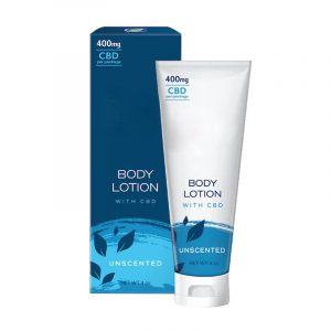 CBD Body Lotion Boxes With Logo