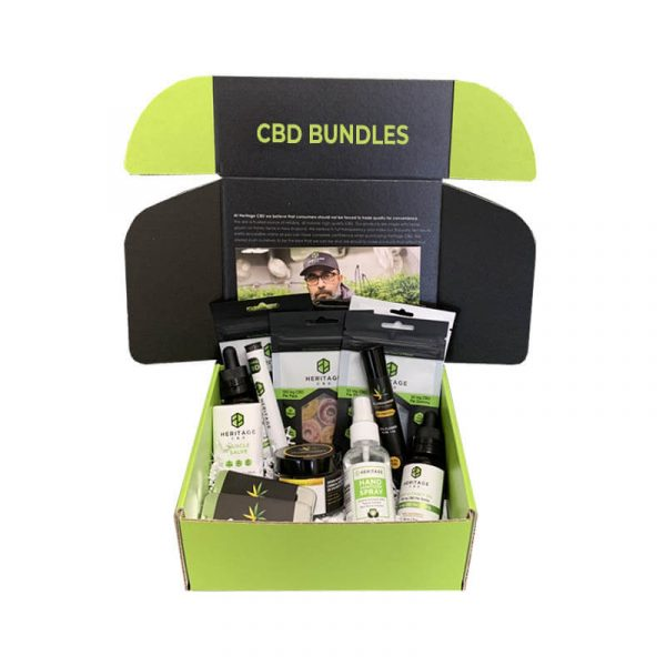 CBD Bundles Boxes Printed