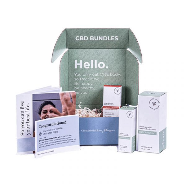 CBD Bundles Boxes Custom