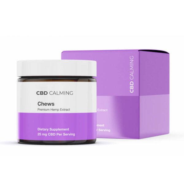 CBD Calming Chews Boxes Custom
