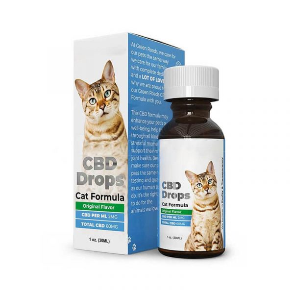 CBD Cat Chews Boxes Packaging
