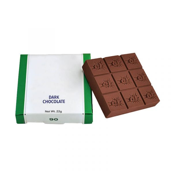 CBD Chocolate Boxes With Brand Logo