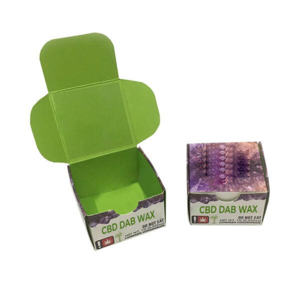 CBD Dab Wax Boxes Printed