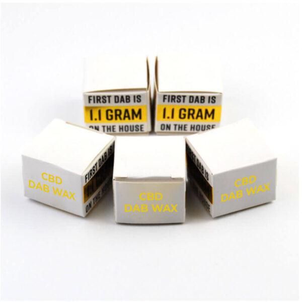 CBD Dab Wax Boxes Custom