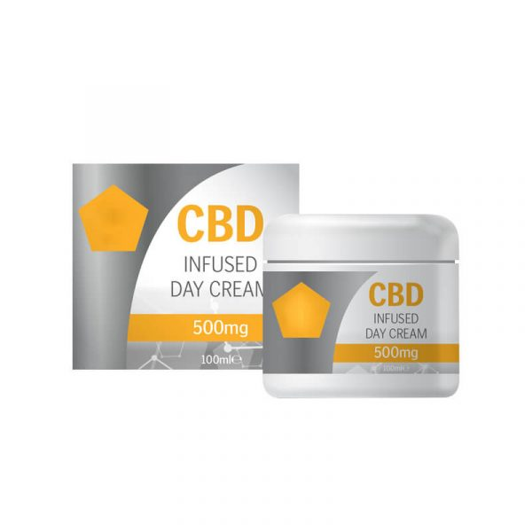CBD Day Cream Boxes Retail