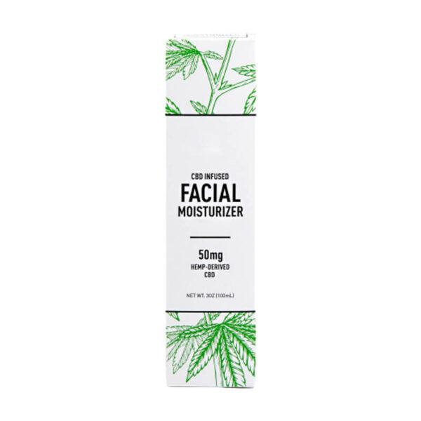 CBD Facial Moisturizer Boxes Customized