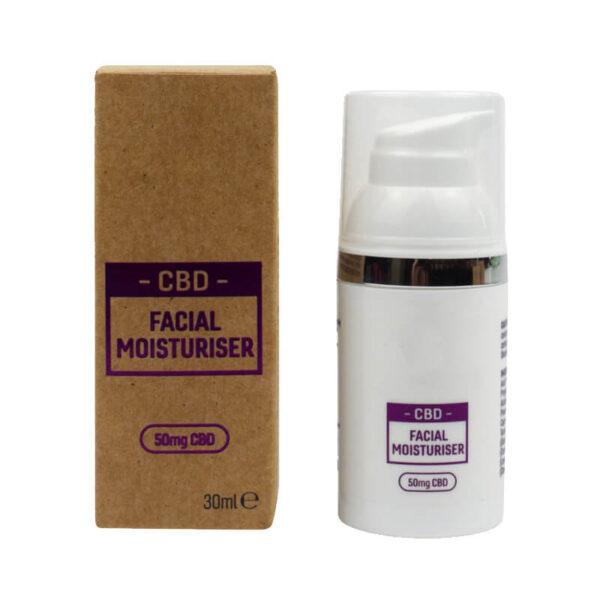 CBD Facial Moisturizer Boxes Custom