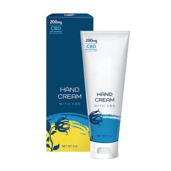 CBD Hand Cream Boxes Customized