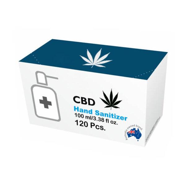 CBD Hand Sanitizer Boxes Wholesale