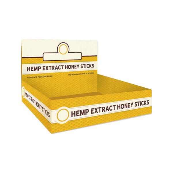 CBD Honey Boxes Packaging