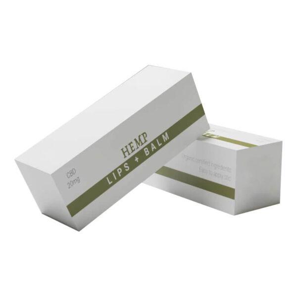 CBD LIp Balm Boxes Branding