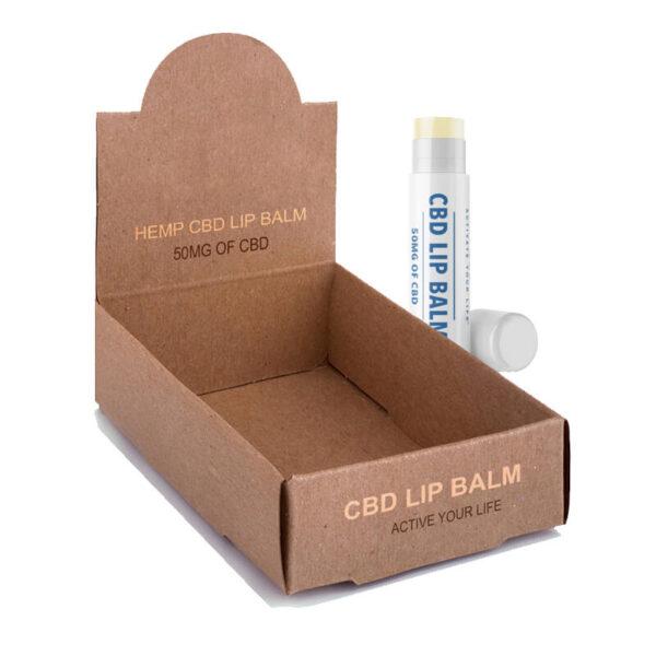 CBD LIp Balm Boxes Printed