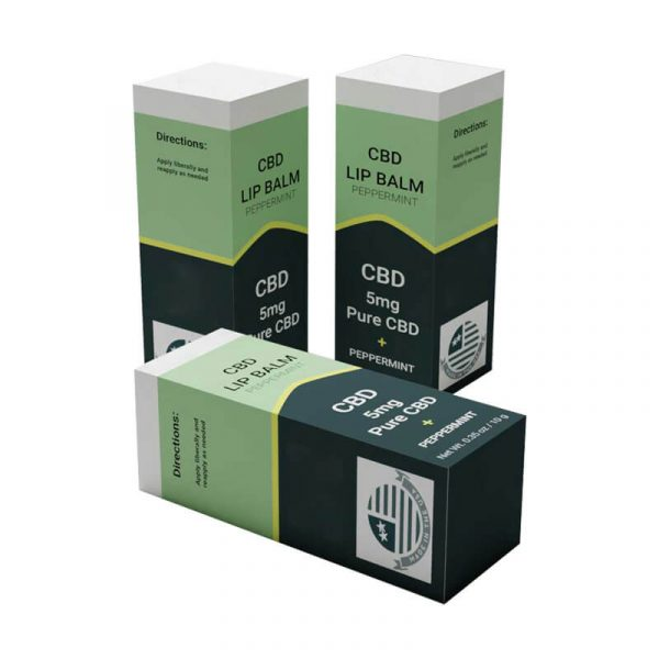 CBD LIp Balm Boxes With Free Shipping