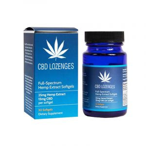 CBD Lozenges Boxes Printed