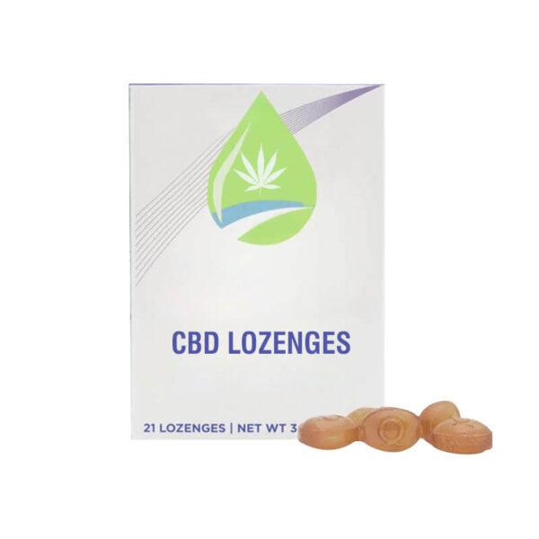 CBD Lozenges Boxes Custom