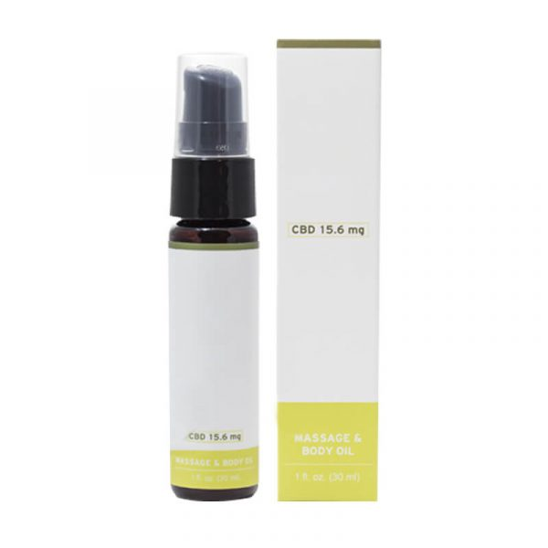 CBD Massage Oil Boxes Packaging