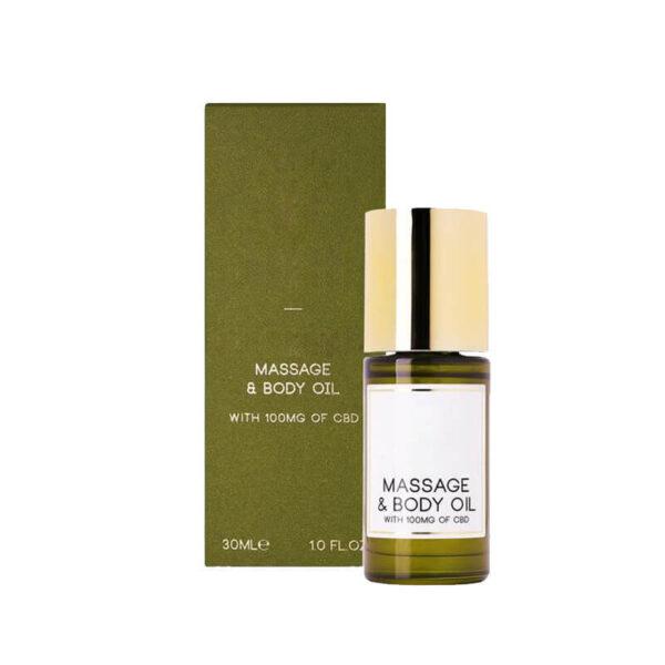 CBD Massage Oil Boxes Wholesale