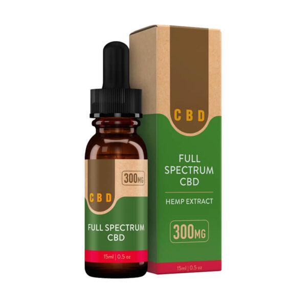 CBD Oil Tincture Boxes Retail