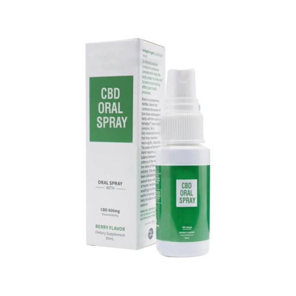 CBD Oral Spray Boxes Wholesale