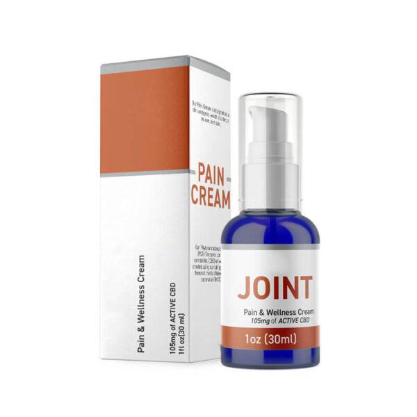 CBD Pain Cream Boxes Retail