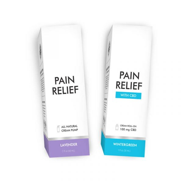 CBD Pain Cream Boxes Wholesale