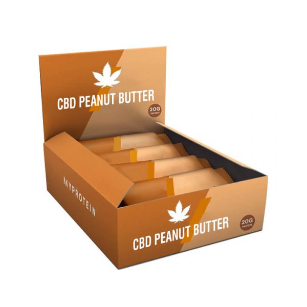 CBD Peanut Butter Boxes Packaging