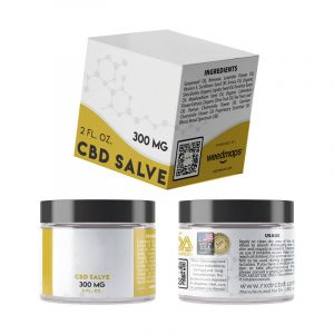 CBD Salve Boxes With Logo