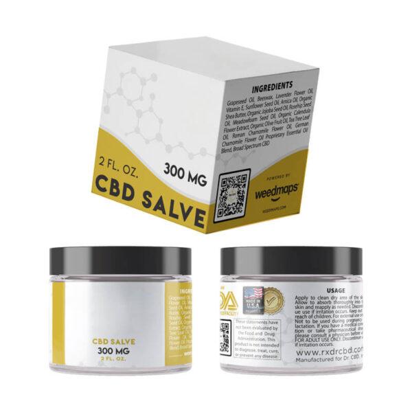 CBD Salve Boxes With Logo