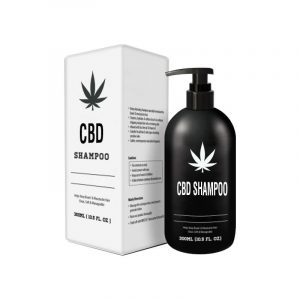 CBD Shampoo Boxes With Logo