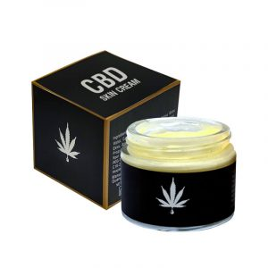 CBD Skin Cream Boxes Retail