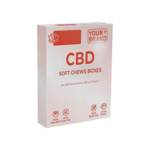 CBD Soft Chews Boxes Manufacturer