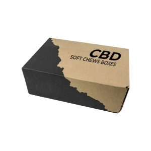 CBD Soft Chews Boxes Wholesale