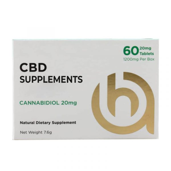 CBD Supplement Boxes Packaging