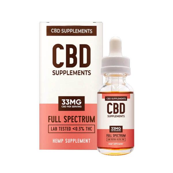 CBD Supplement Boxes Wholesale